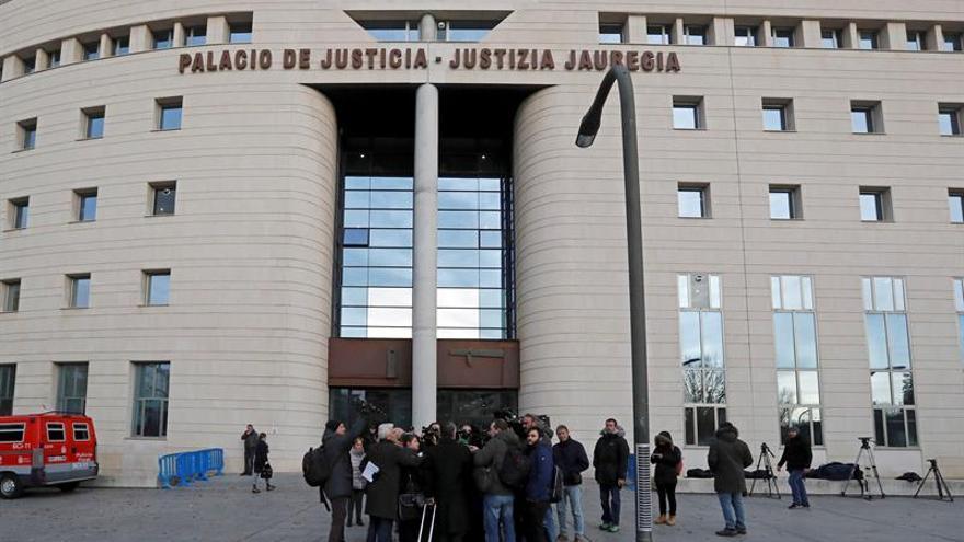 El Palacio de Justicia de Pamplona.