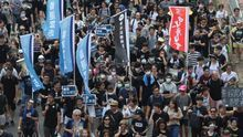 Periodistas se manifiestan en Hong Kong contra la actuación policial