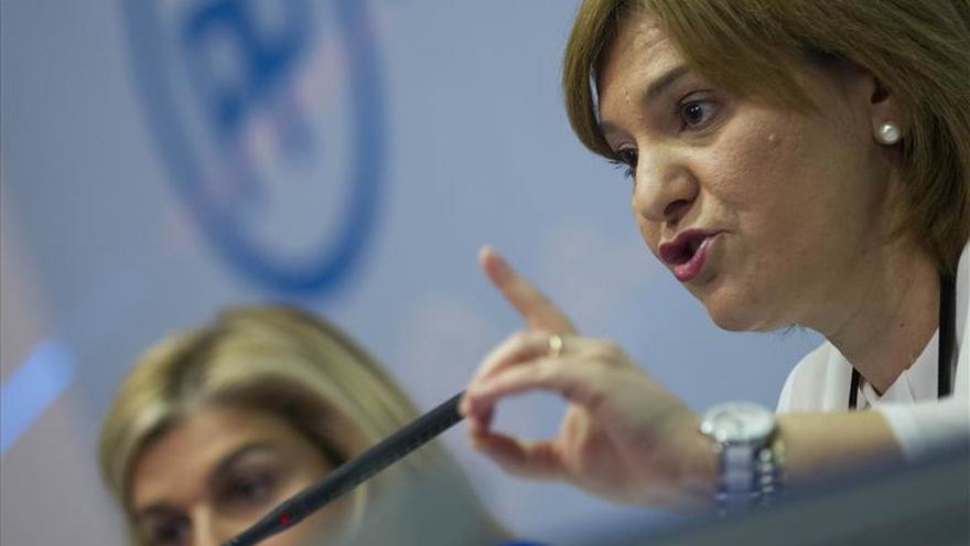 La presidenta dels populars valencians, Isabel Bonig