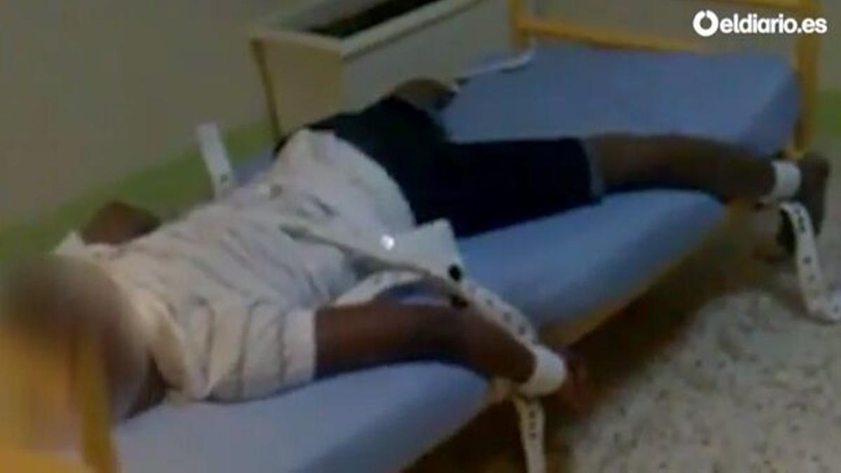 Captura del vídeo publicado en elDiario.es en febrero de 2015