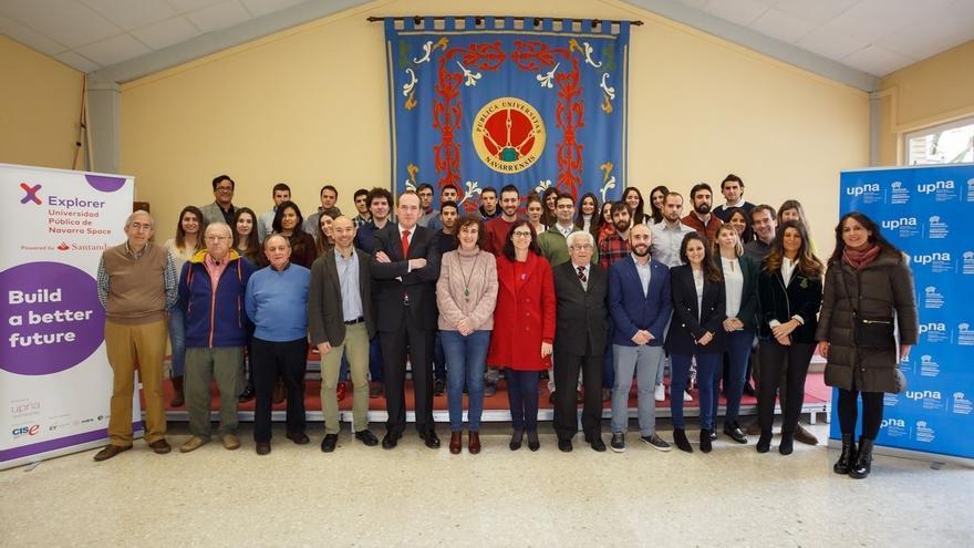 Presentados en la UPNA los 22 proyectos emprendedores del programa Explorer 'Jóvenes con ideas' 2018
