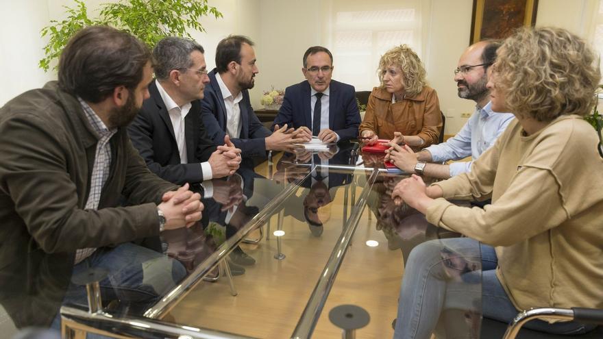 """Díaz Tezanos dice que el PSIR de Las Excavadas contribuirá a la """"reactivación"""" de la comarca"""