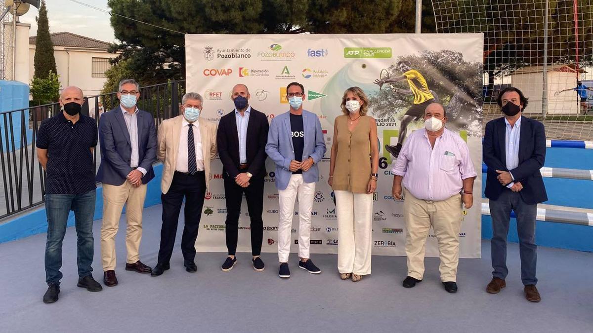 Presentación del Open Ciudad de Pozoblanco de tenis