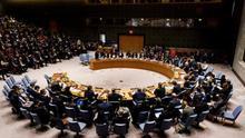 Vista general de una reunión del Consejo de Seguridad de Naciones Unidas.