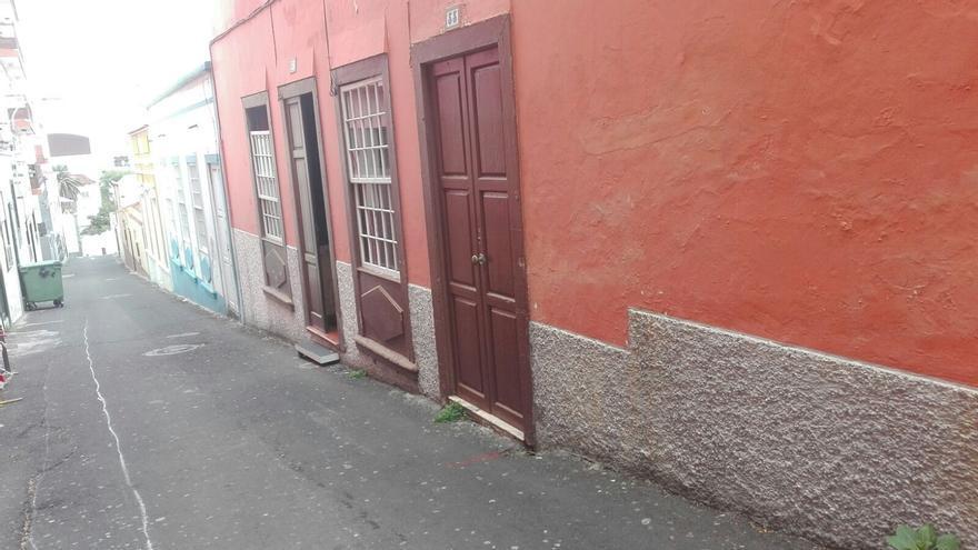 En la imagen, un tramo de la calle Virgen de La Luz.