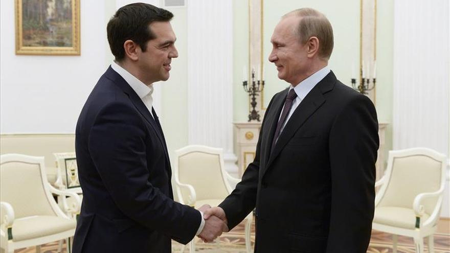 Putin ofrece a Tsipras créditos para las compañías griegas que participen en el gasoducto ruso-turco