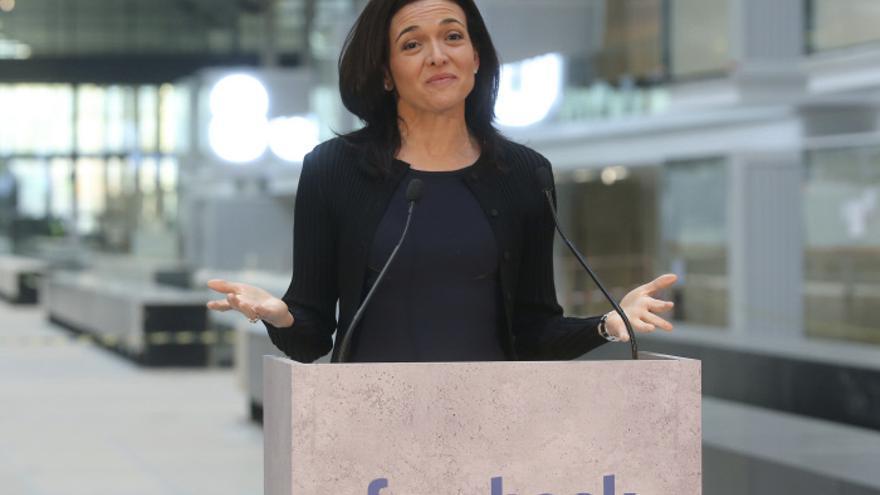 Sheryl Sandberg, jefa de Operaciones de Facebook, en una imagen tomada en 2017.