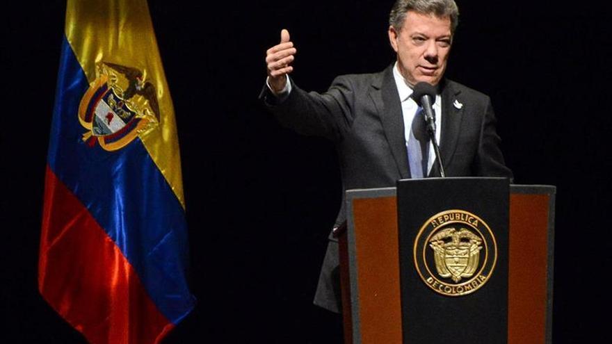 Santos agradece al papa Francisco el mensaje de paz y las oraciones por Colombia