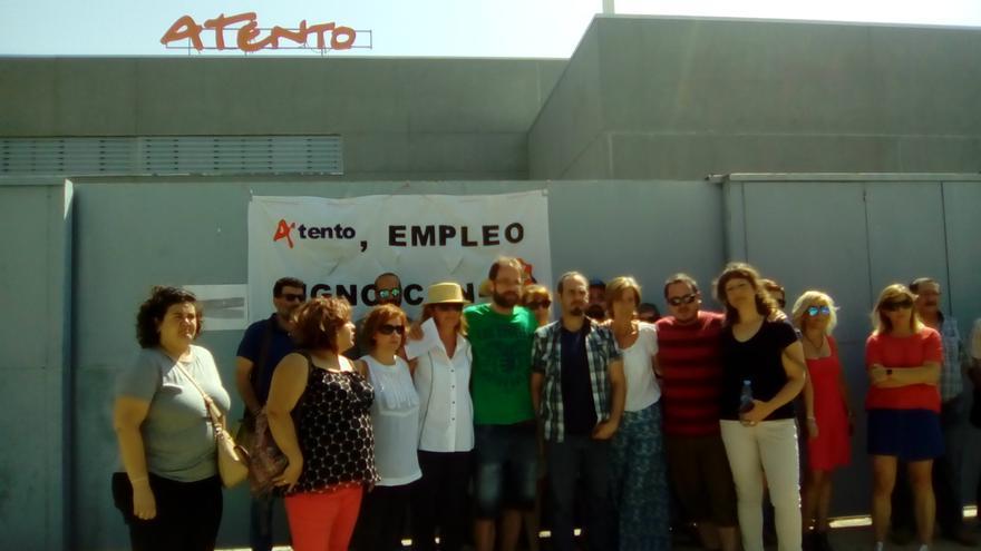 Trabajadores de Atento Toledo