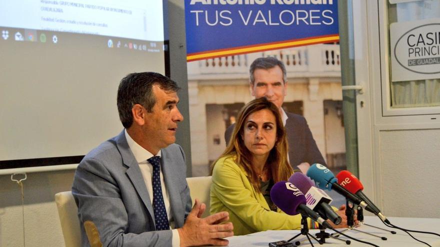 Antonio Román, alcalde de Guadalajara y candidato a la reelección por el PP FOTO: PP Guadalajara