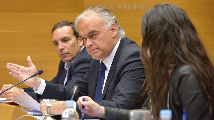 El eurodiputado del PP y exconseller Esteban González Pons en la comisión de investigación de Ciegsa