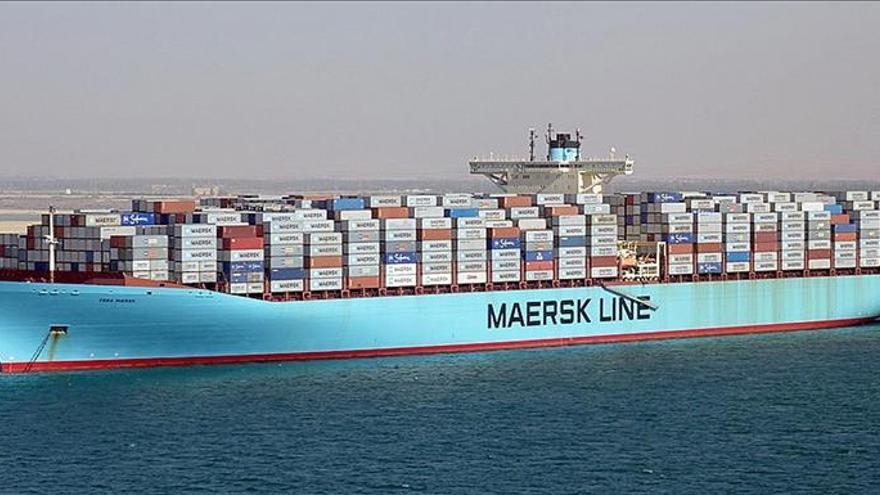 La naviera danesa Mærsk gana 598 millones de euros hasta marzo, un 33 por ciento menos