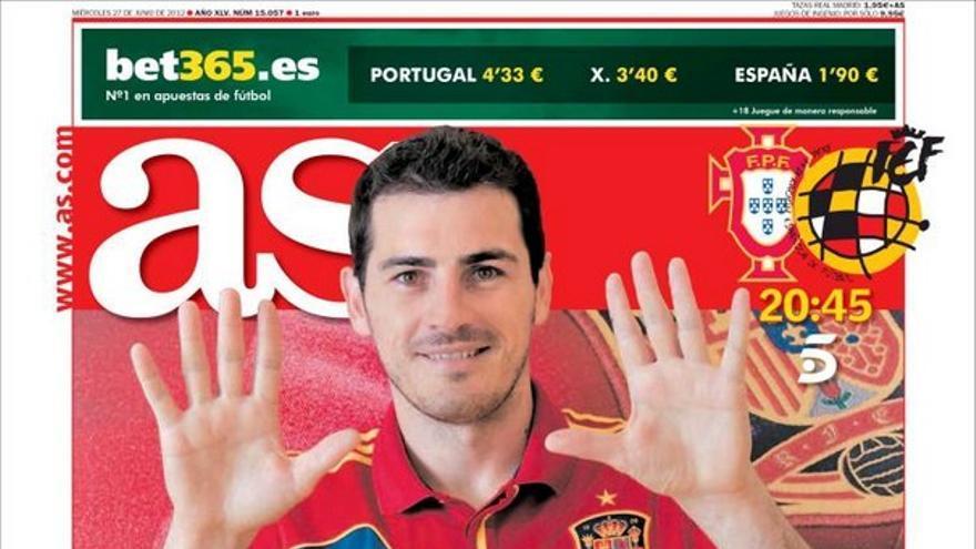 De las portadas del día (27/06/2012) #13