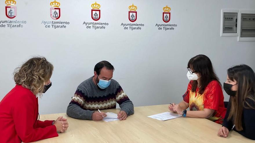 Salud Mental La Palma firma un convenio con el Ayuntamiento de Tijarafe