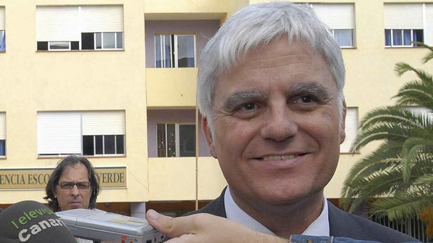 José Miguel Pérez, ex secretario general del PSOE canario. (EFE)
