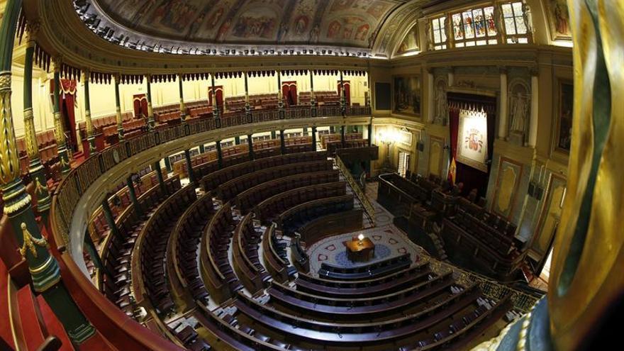 El Congreso suprime el cóctel de la sesión de apertura solemne de las Cortes