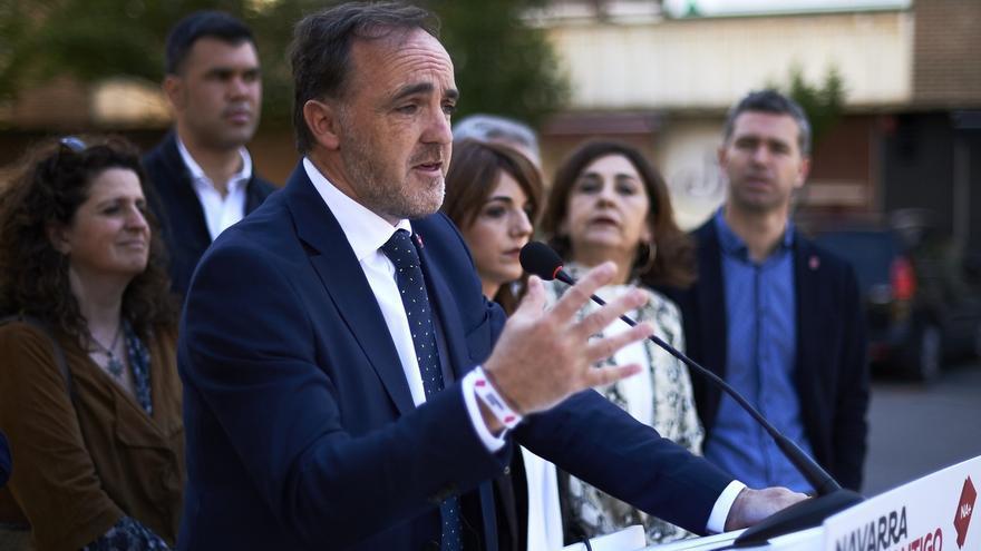 """Esparza dice que el PSN """"habrá aceptado un acuerdo que incluye a independentistas"""" si Bildu está en la Mesa de la Cámara"""