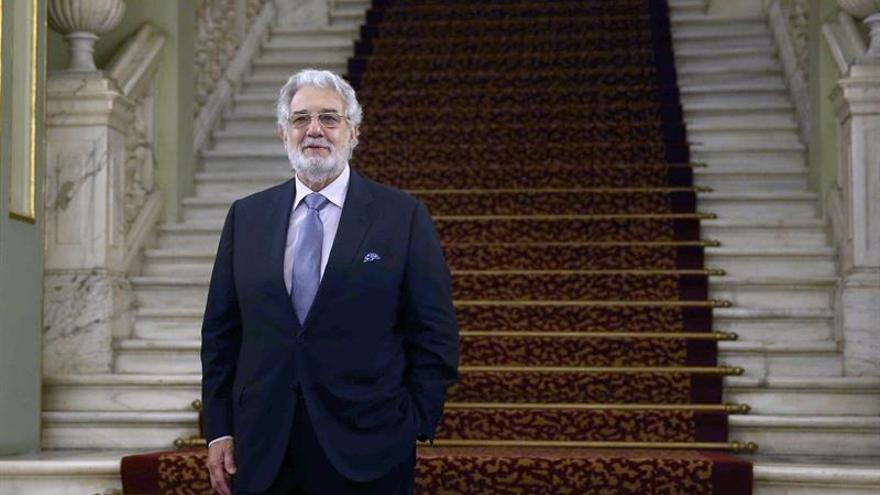 Plácido Domingo: En una ópera en concierto hay más intimidad porque no hay movimiento