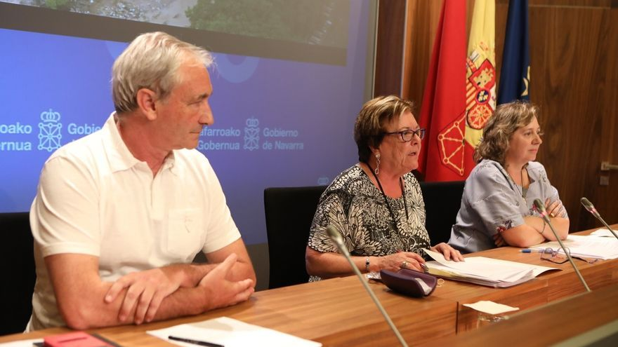 El Gobierno de Navarra declara situación de catástrofe en la Zona Media por las inundaciones