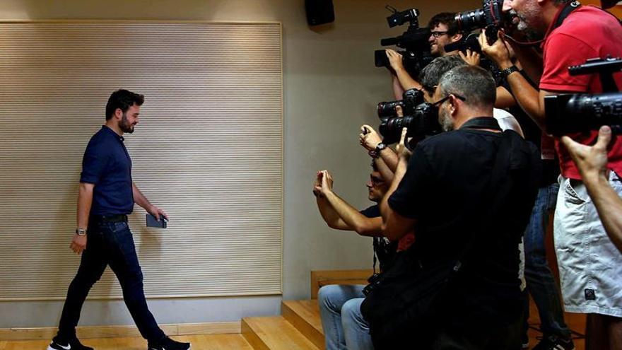 """ERC se reunirá con Rajoy pero avisa de que """"nunca"""" apoyará un Gobierno del PP"""