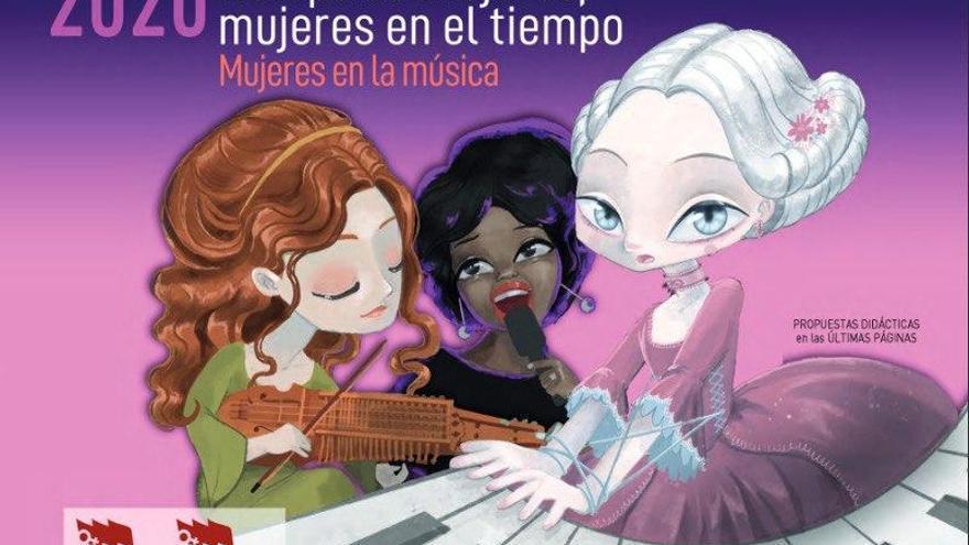 Calendario 2020: 'Mujeres en la música'