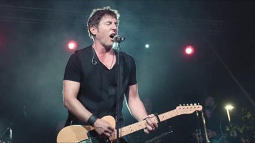 Manel Fuentes actuará en Breña Alta el próximo sábado.