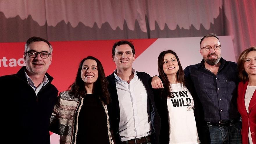 Arrimadas protagoniza un acto con Rivera hoy en Madrid mientras sigue en el aire si será diputada