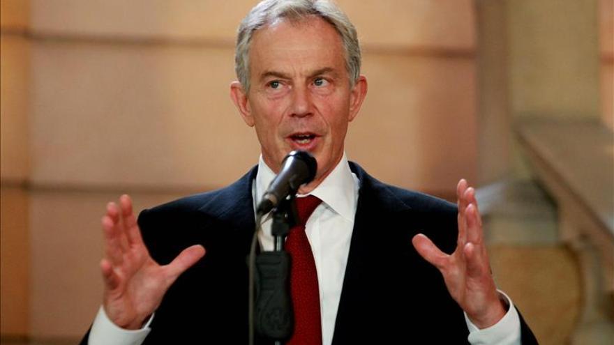 Ollanta Humala se reune con el ex primer ministro británico Tony Blair