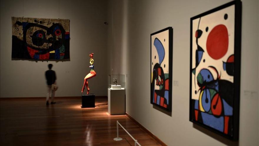 Miró y Cézanne superan ampliamente las expectativas en la subasta de Londres