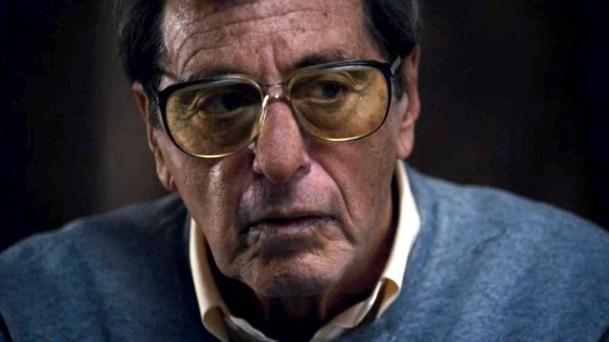 Al Pacino interpretando a Joe Paterno