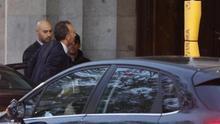 Manuel Marchena, a su llegada al Tribunal Supremo.