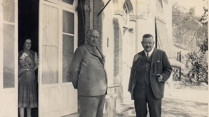 Otto Engelhardt, en Villa Chaboya / Imágenes cedidas por la familia.