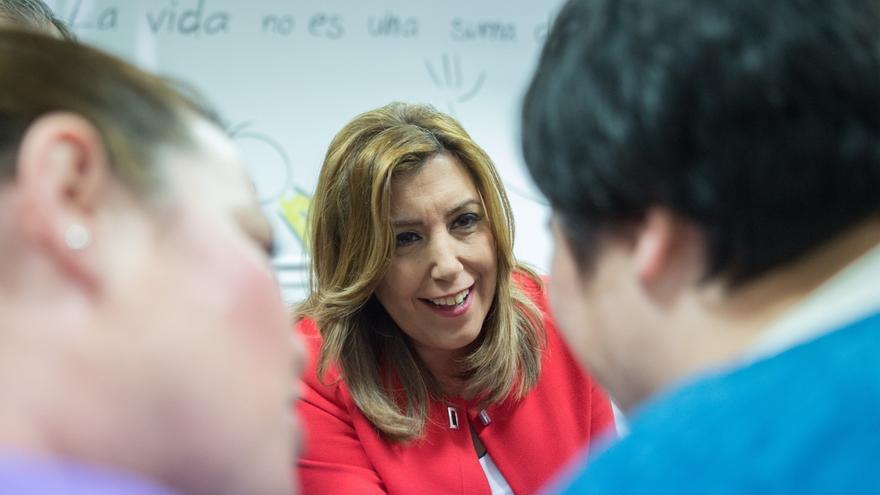 Medio centenar de miembros del PSC arroparán a Susana Díaz el domingo en Madrid