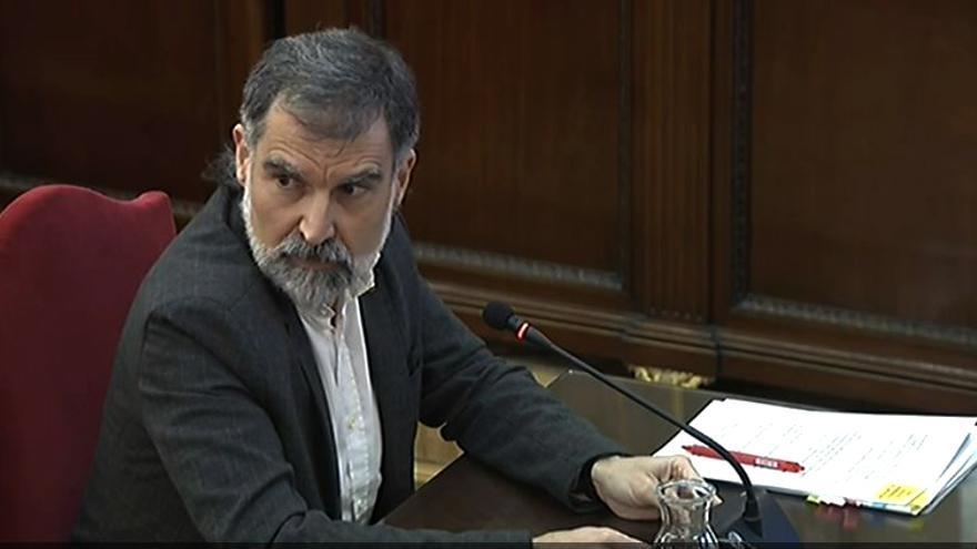 Cuixart critica su encarcelamiento en un encuentro mundial de defensores de derechos humanos