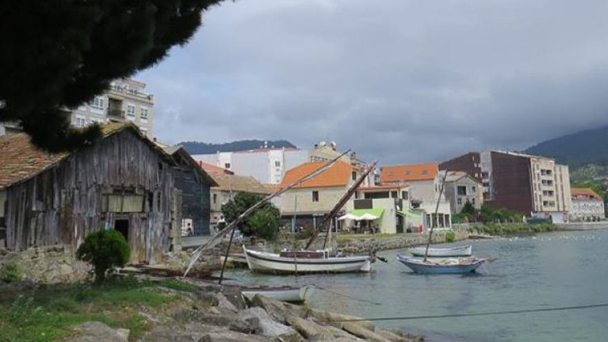 Astilleros tradicionales en Moaña