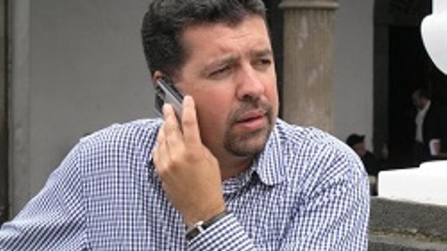 Juan José Cabrera, primer teniente alcalde de la capital.