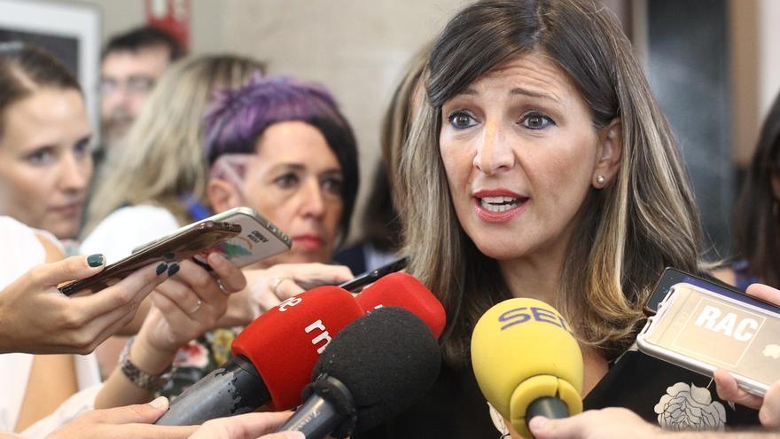 """Yolanda Díaz pide a Sánchez que se siente con Iglesias: """"Puede ser esta propuesta u otra"""""""