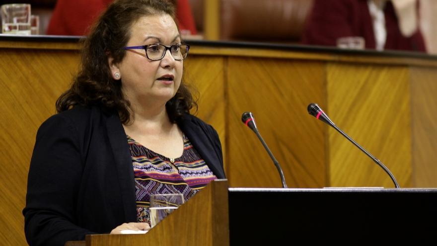 La diputada María del Carmen Prieto adquiere la condición de no adscrita en la cámara andaluza y Cs reclama el acta