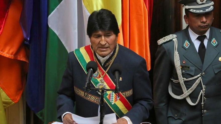 """Morales condena el ataque de EE.UU. contra Siria y habla de """"genocidio"""""""