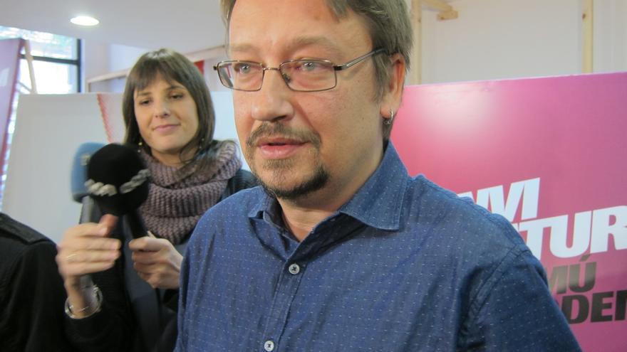 """Domènech (EnComúPodem) lamenta que el TC """"juegue el papel de los políticos"""""""