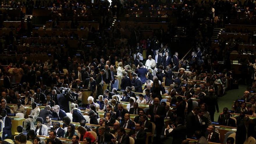"""El papa proclama en la ONU que existe un """"derecho del ambiente"""""""