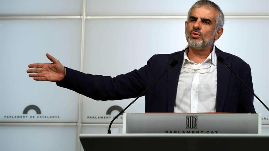 """Carrizosa dice que el independentismo está """"fracturado"""" y va al 21-D """"dividido"""""""