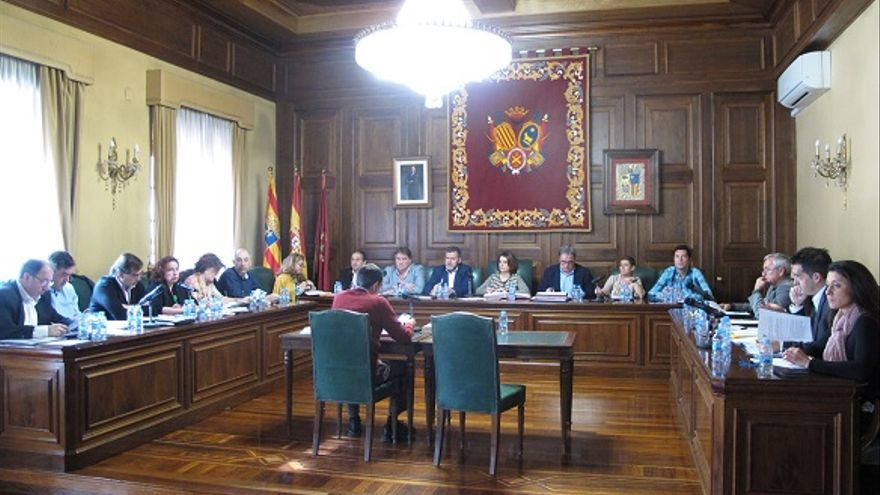 El Pleno del Ayuntamiento de Teruel aprobó una declaración institucional por el 8M.