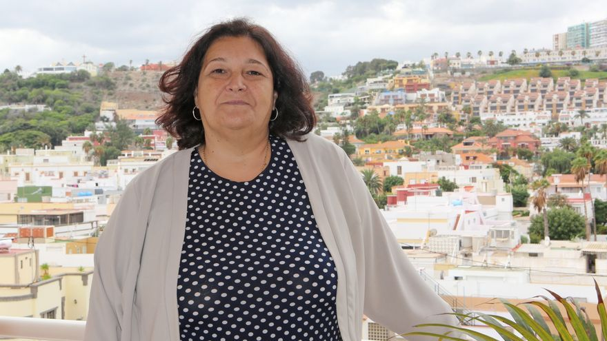 Diana Mujica (Podemos), concejala de Igualdad en el Ayuntamiento de Las Palmas de Gran Canaria