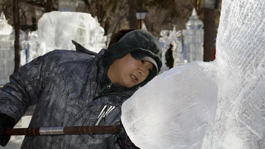 El Festival de Hielo de Harbin se consagra como el rey del invierno chino