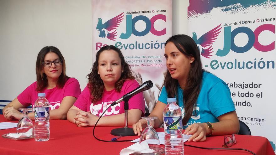 """La Juventud Obrera Cristiana denuncia la """"precariedad, explotación y marginación"""" de los jóvenes."""