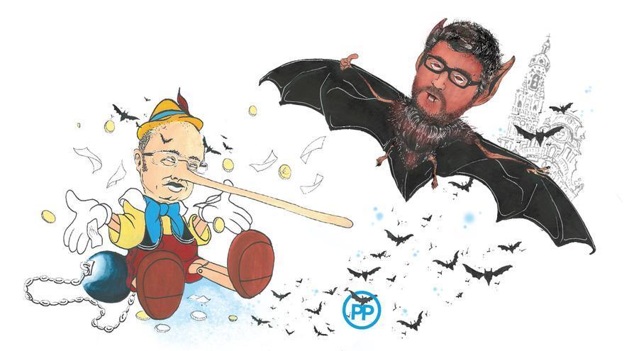 El agosto de los políticos: la pesadilla de Pedro Antonio Sánchez