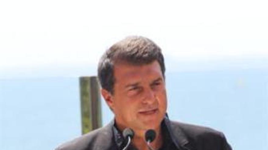 El líder de Solidaritat Catalana, Joan Laporta.