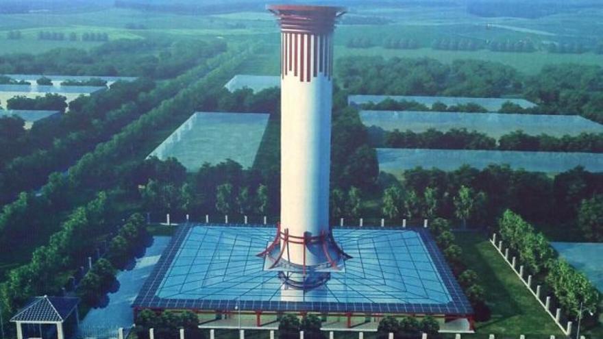 Investigadores chinos pretenden crear torres de 500 metros de altura y 200 metros de diámetro con las que purificar el aire