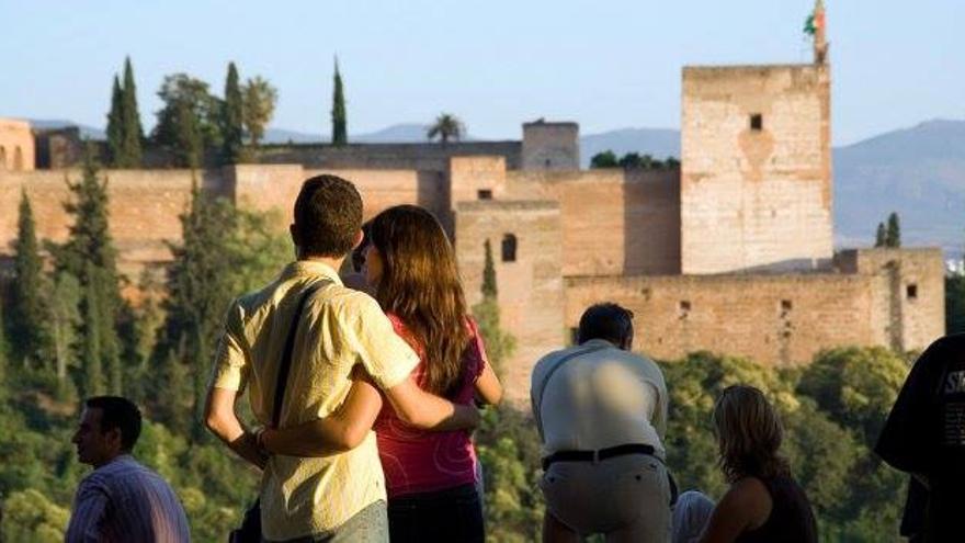 Mirador de San Nicolás, en Granada.